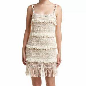 Nicole Miller Artelier Crochet Boho Dress